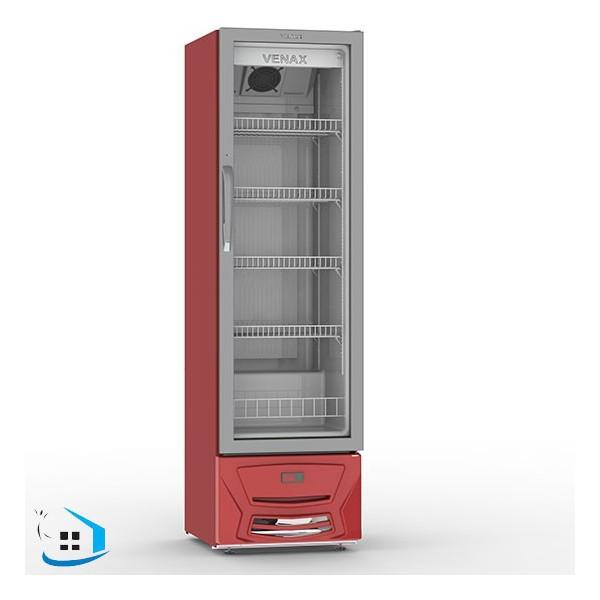 Geladeira/refrigerador 209 Litros 1 Portas Vermelho - Venax - 220v - Vvcd